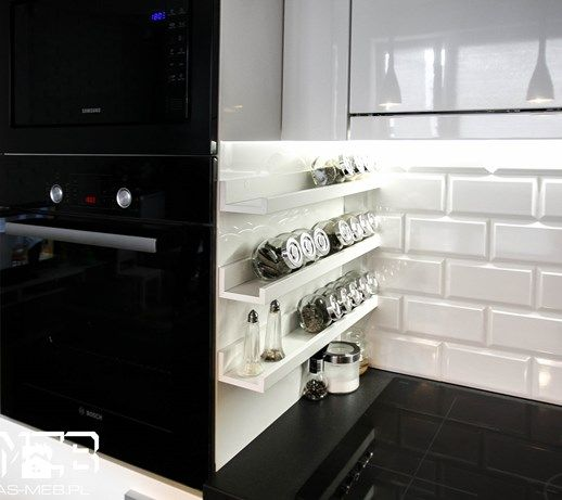 Średnia kuchnia, styl skandynawski - zdjęcie od AS-MEB producent kuchni i mebli