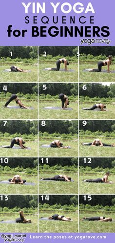 yin yoga printable for beginners interested in learning