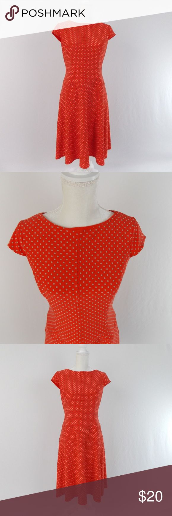 Anne Klein Polka Dot Dress Work Casual Party Sz8 Anne Klein Polka Dot Dress Work Casual Party Sz8   95% Polyester 5% Elastane  What we love about this dress:  Fun work dress or night out on sipping on wine with your favorite BFF.  Any occasion dress! Anne Klein Dresses