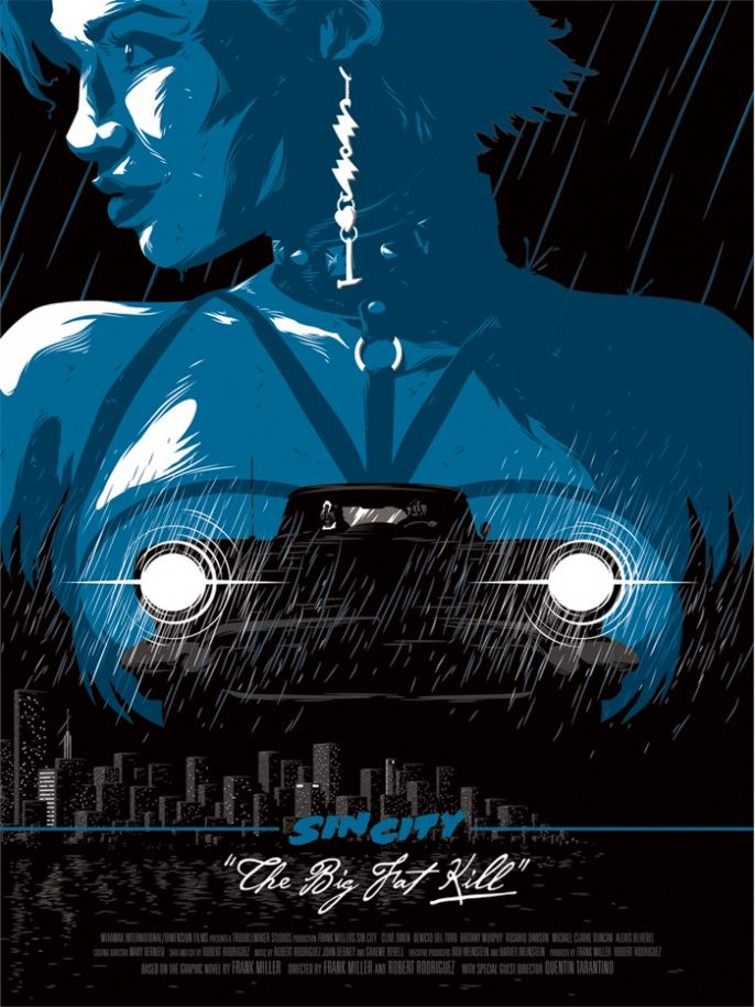 Florey – Sin City Posters