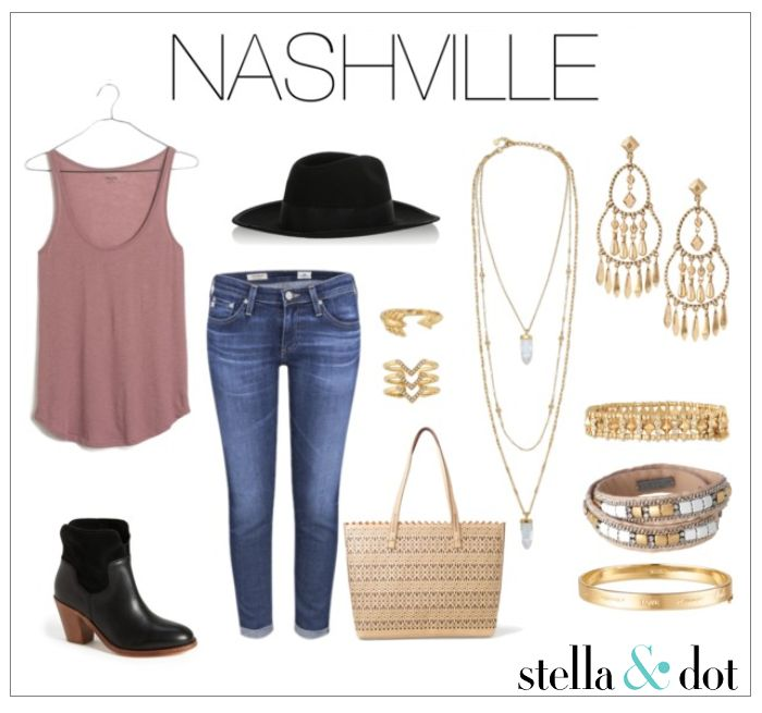 Get your little bit of country with this Nashville inspired Halloween Costume by Stella & Dot.          Shop these accessories at www.stelladot.com/nicolecordova