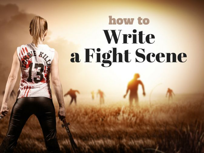 how to write a fight scene with swords