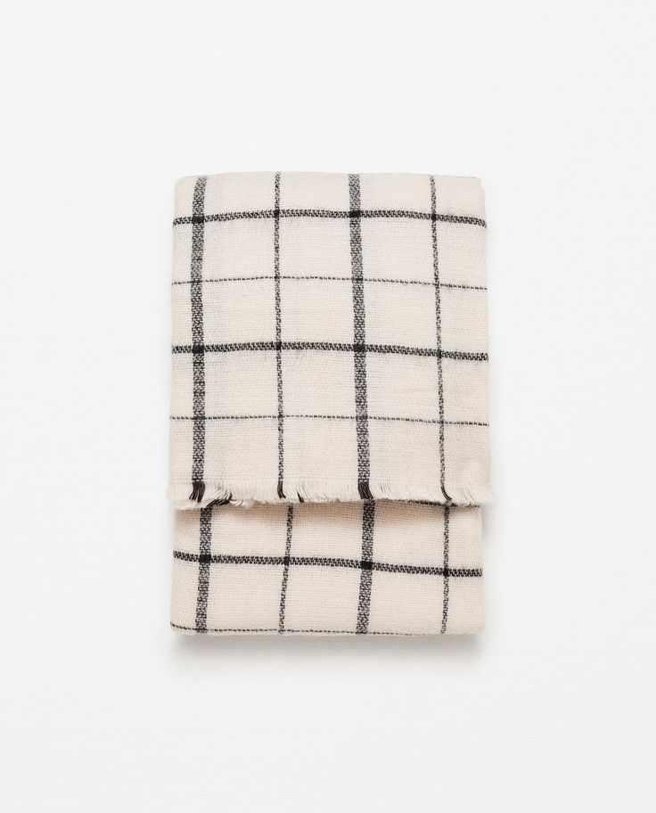 SOFT CHECK SCARF-Scarves-Accessories-WOMAN | ZARA United States