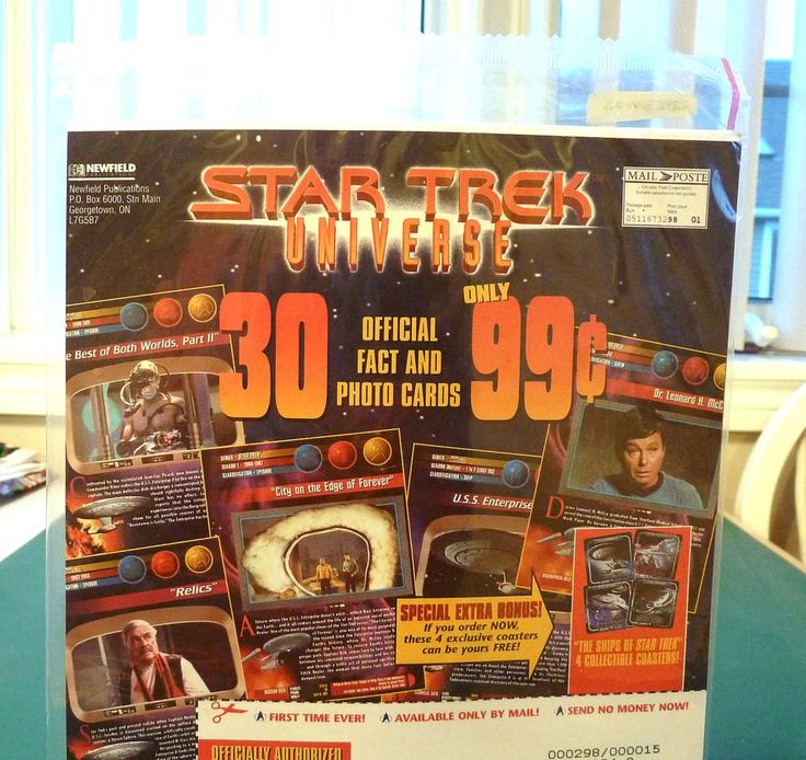 Star Trek Universe Add 1967 by SouthamptonCreations on Etsy