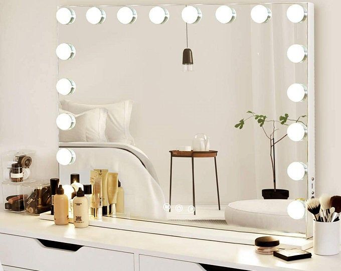 Impressions Vanity Hollywood Glow Panorama Extra Wide Etsy In 2021 Mirror With Lights Led