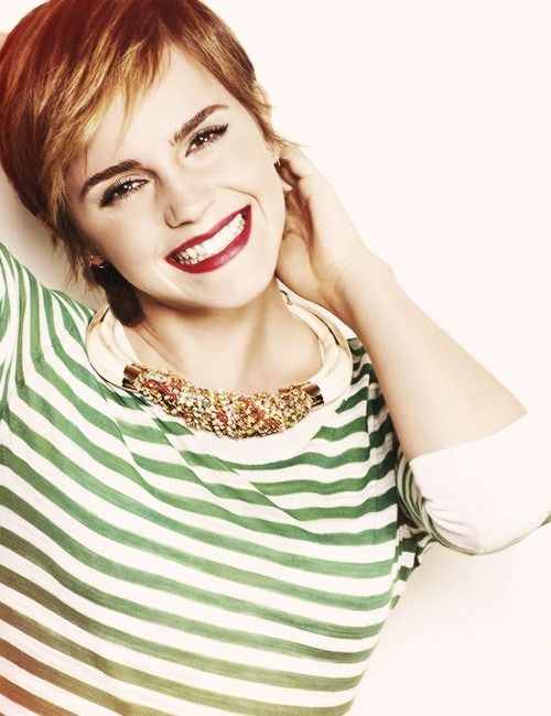 If I could be anyone in the world, I would be Emma Watson. She is so beautiful and talented!