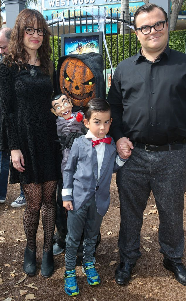 Tanya Haden, Jack Black & Thomas Black from The Big Picture: Today's Hot Pics  Scary fun! The family attends the premiere of Goosebumps in Los Angeles.