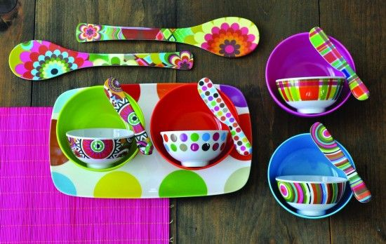 Colorful To The Point Of Trippy Housewares From French Bull