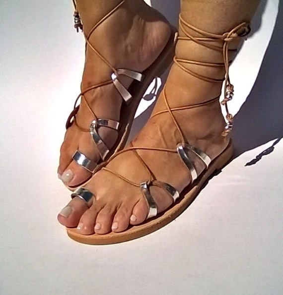 leather sandalsgladiator sandalswomens by FEDRAinspirations