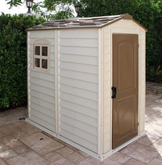Abri de jardin pvc woodstyle premium 4x6 x m for Jardin 4x6 shed