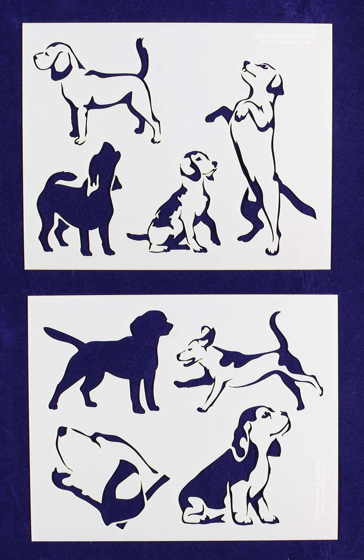 Beagle Dogs Mylar Stencils Pinterest Beagles Dogs