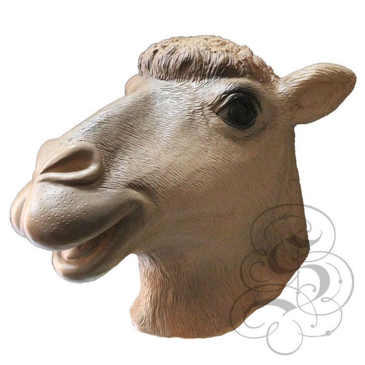 Latex Full Head Domestic Animal Camel High Quality Fancy Dress Prop Party Masks
