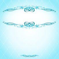 リーンに輝く飾り枠_結婚-招待状-カード-母の日-枠-囲み-フレーム背景イラスト