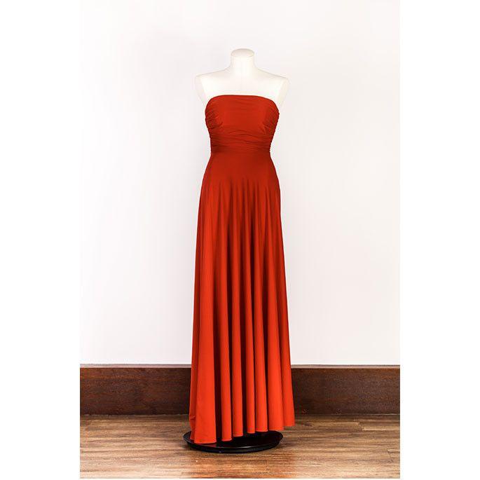 Eileen Kirby - Sia Dress Red
