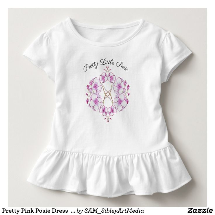 Pretty Pink Posie Dress  For Baby Girl