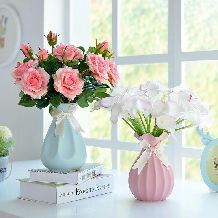 Набор-цветы-розы-небольшой-свежий-и-простой-Гостиная-украшения-керамическая-ваза-для-цветов-домашний-стол.jpg (800×800)