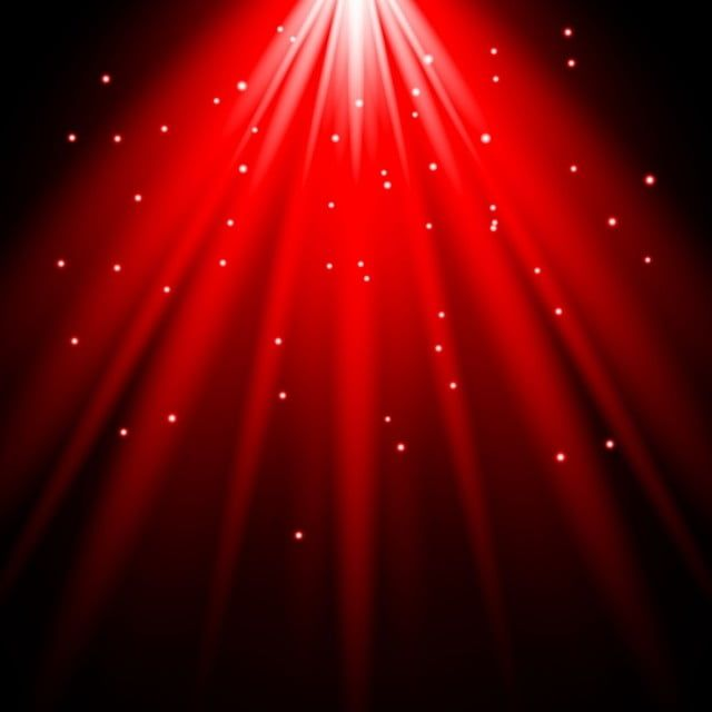 Sunlight Lens Flare Red Light Effect Spotlight Illuminated Vector Illustration Spotlight Clipart Abstract Art Png And Vector With Transparent Background For Lens Flare Light Background Images Light Red