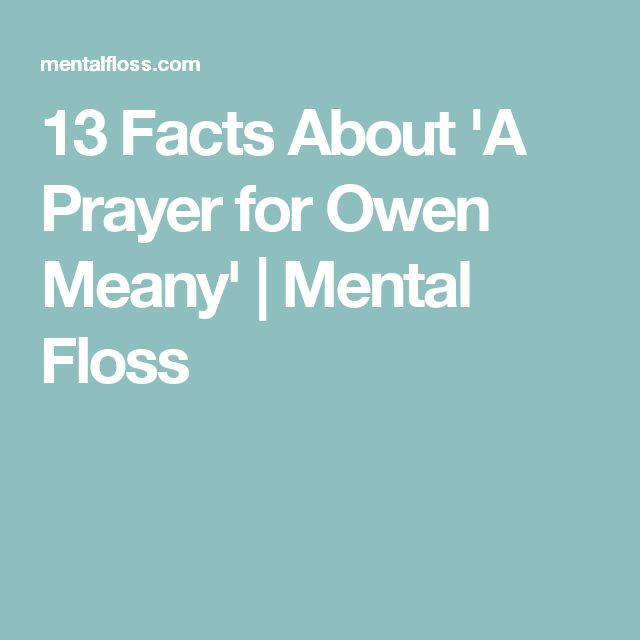 best prayer for owen meany ideas john irving  13 facts about a prayer for owen meany mental floss