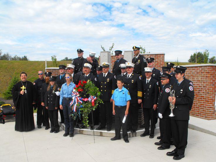 Sept 17, 2011. 911 Memorial ceremony at Luzerne County Community College Nanticoke.