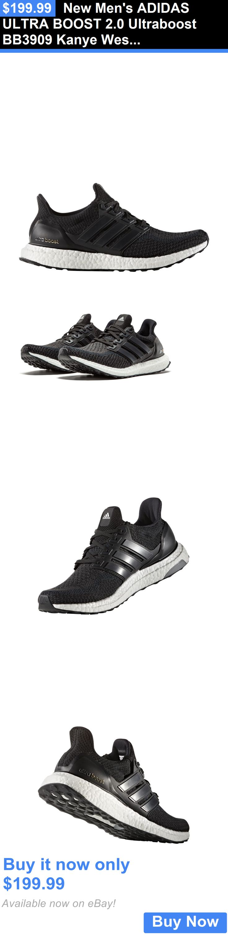 Men Shoes: New Mens Adidas Ultra Boost 2.0 Ultraboost Bb3909 Kanye West Running Sneaker BUY IT NOW ONLY: $199.99
