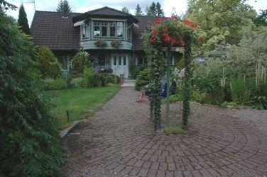 Trädgårdar i Dalarna - Sörgården i Rättvik