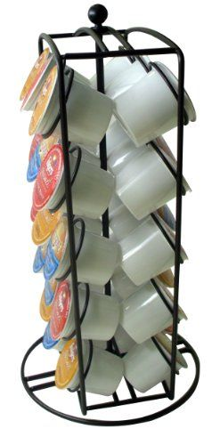 Southern Homewares K-Cup Carousel Keurig Cup Holder for 30 Coffee Pods - http://astore.amazon.com/home_garden_tools-20/detail/B00F2L5WF0