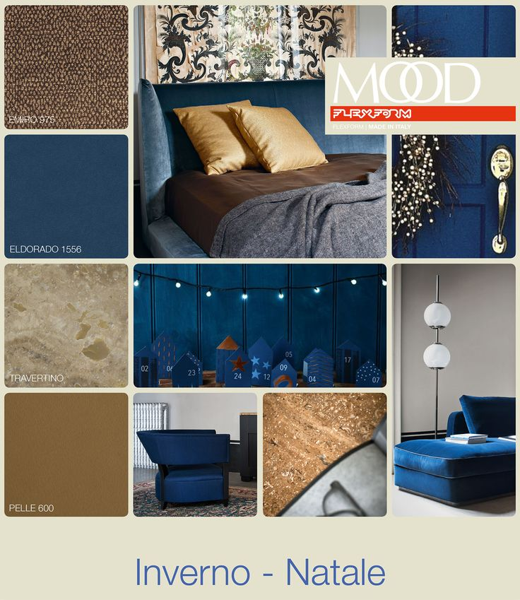 FLEXFORM MOOD | WINTER - CHRISTMAS #INSPIRATION #colour #materials
