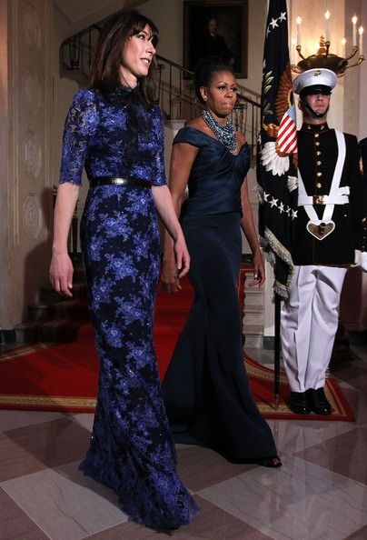 Michelle Obama and Samantha Cameron Photos - President And Mrs. Obama Host Official Visit Of UK Prime Minister Cameron - Zimbio