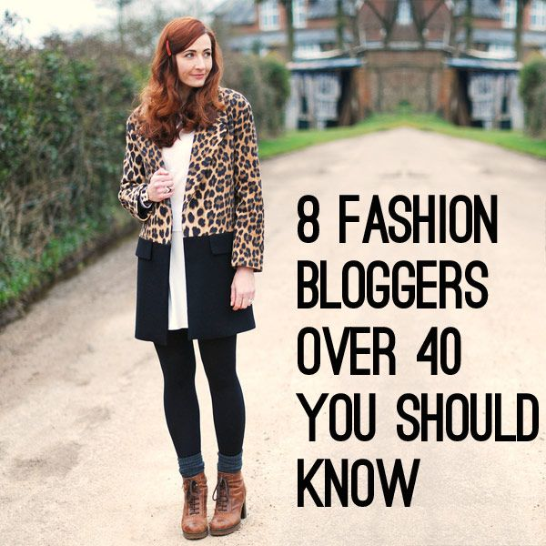 8 Fashion Bloggers over 40 You Should Know
