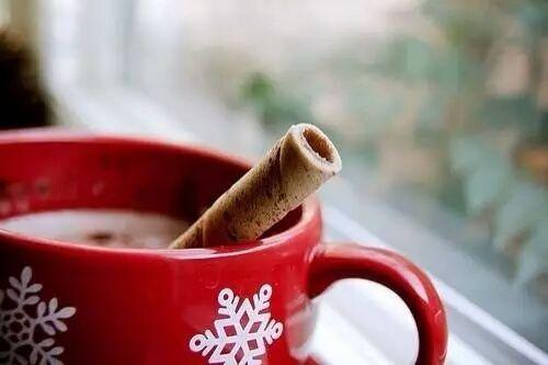 winter, christmas, and hot chocolate kép