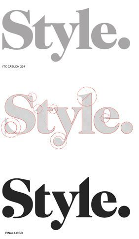 I love seeing how designers modified an existing typeface. (by Gretel). Should you require Fashion Styling Advice & More. View & Contact: www.glam-licious.webs.com