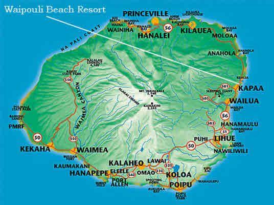 The 25 best Map of kauai ideas on Pinterest  Kauai map Kauai