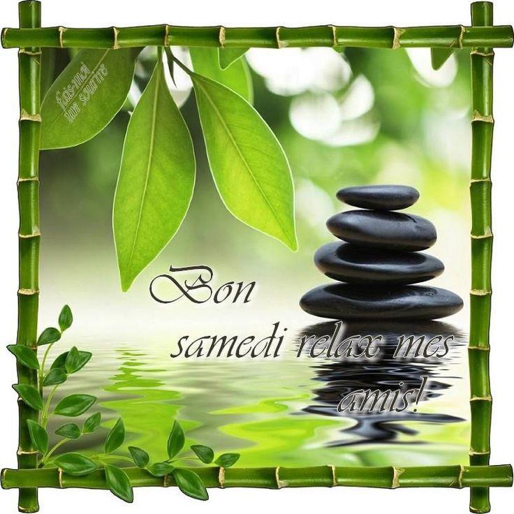 Bon samedi relax mes amis! #bonsamedi galets zen detente bon samedi