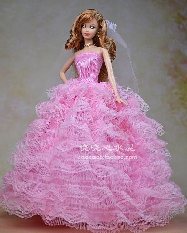 24 best barbie 6 images on pinterest barbie doll for Barbie wedding dresses for sale