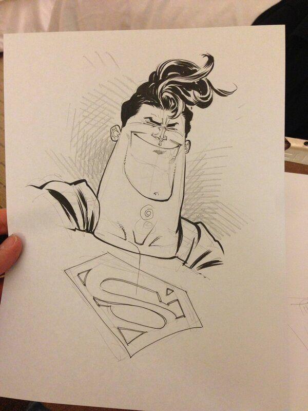 Superman by Skottie Young