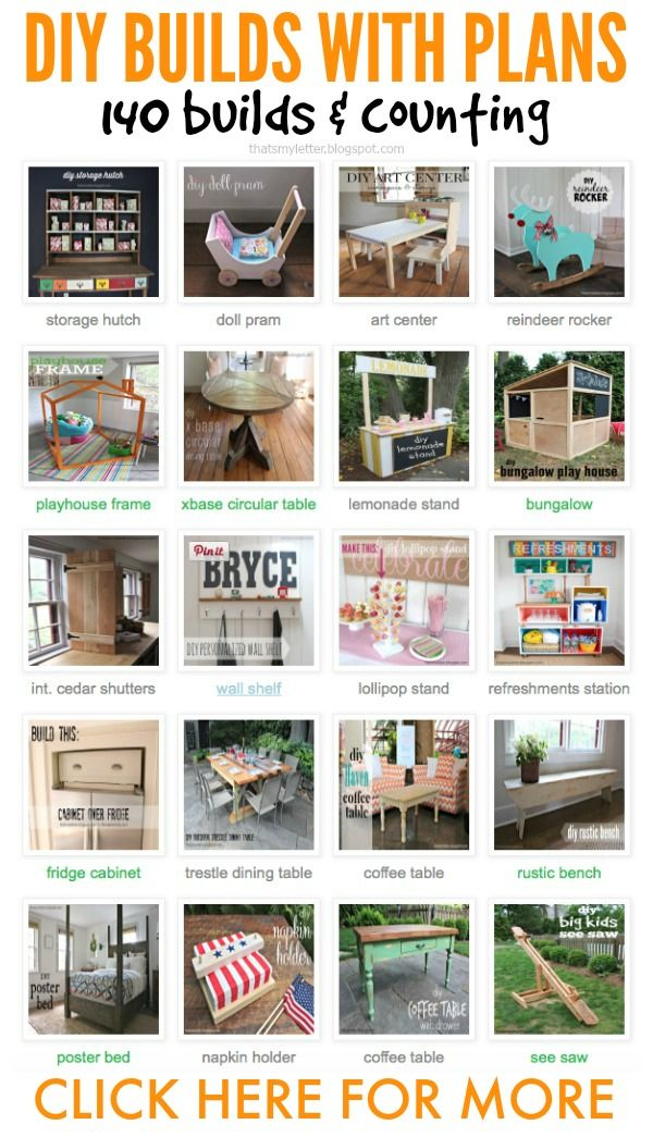 Over 140 DIY projects and tutorials - so much inspiration in one place! from That's My Letter