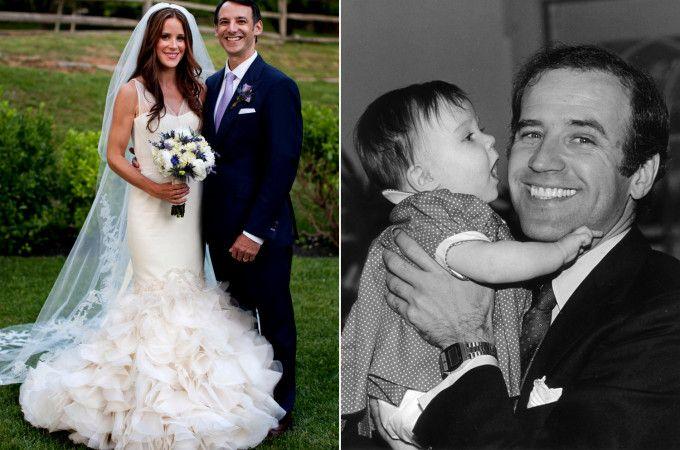Ashley la fille de Neil le jour de son mariage avec Howard Krein