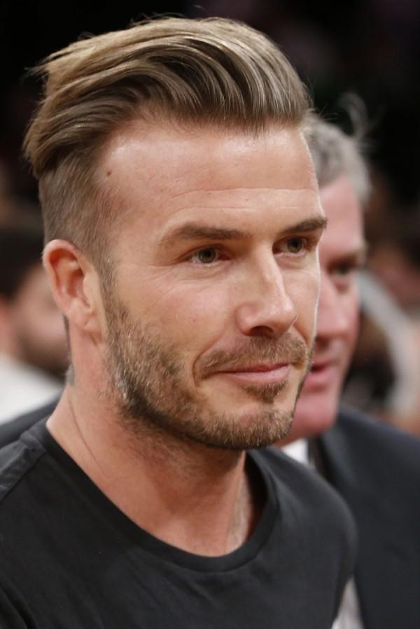 Los cortes de cabello 2015 de Mr. David Beckham Corte undercut