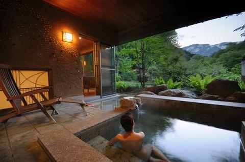 貸切&客室露天風呂の画像 - 別邸 仙寿庵 - 貸切温泉どっとこむ