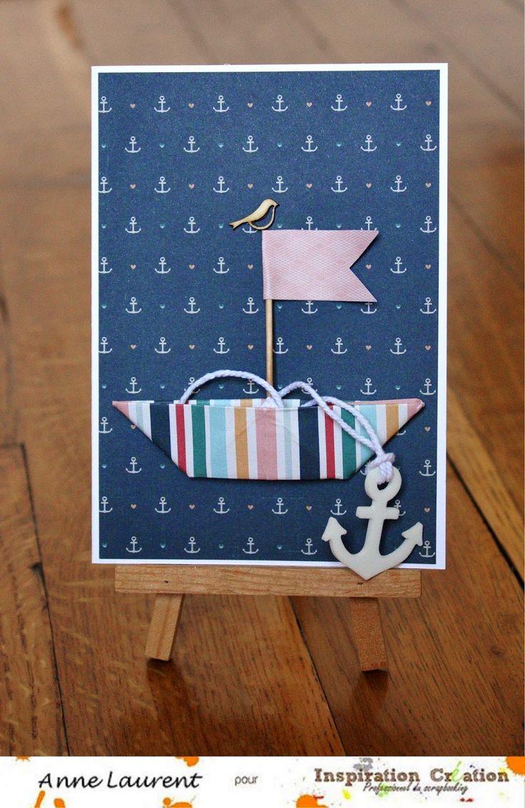 1000 id es sur le th me bateau en origami sur pinterest origami bateaux en papier et origami 3d - Fabriquer un bateau en papier ...