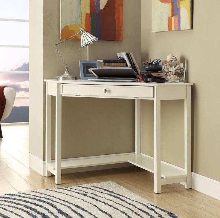 die besten 25 kleiner wei er schreibtisch ideen auf. Black Bedroom Furniture Sets. Home Design Ideas