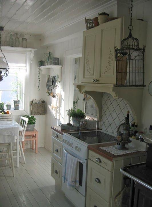 Shabby kitchen...