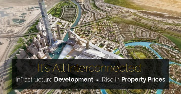It's All Interconnected: Infrastructure Development Equals Rise in Property Prices