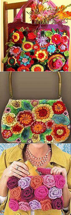 Вязаные сумки своими руками: 30 красивых идей - Учимся Делать Все Сами