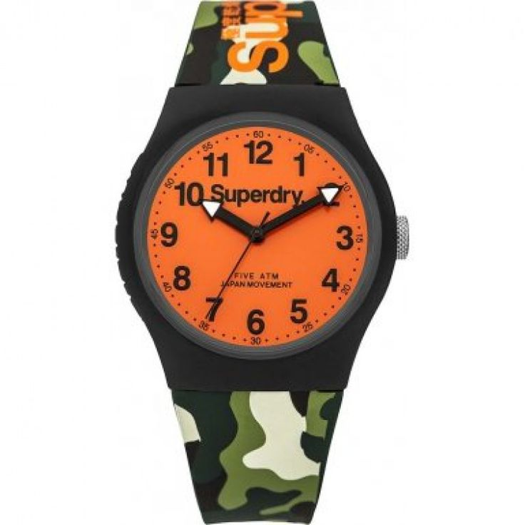 Superdry Urban Three Hands Rubber Strap SYG164AUP   John-Andy.com