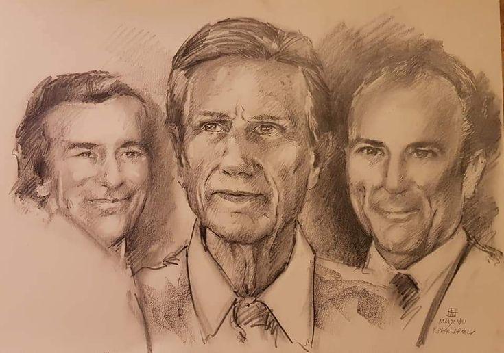 Ritratto di tre fratelli | Altamiradecor, bottega d'arte di Franco Pagliarulo
