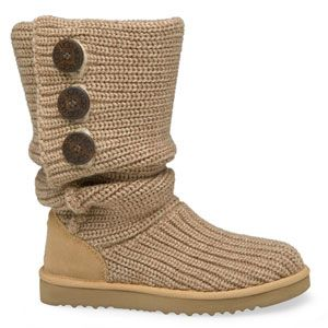 Cardy UGGs, I have these in grey and I love them. They keep my feet nice and toasty!
