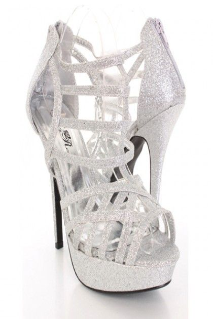 Awesome Prom Shoes Silver | Ale Wedding