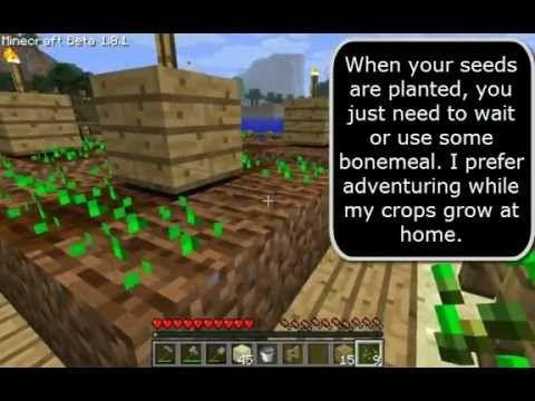 how to make a quats farm minecraft