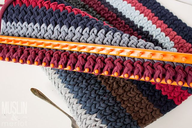 Knitting Loom T Shirt Rug Loom Knitting Blanket Loom